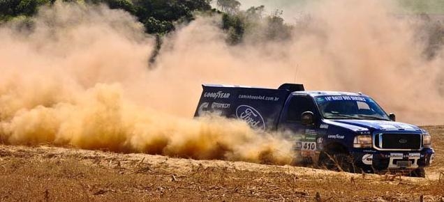 Ford Racing Trucks/Território Motorsport faz dobradinha na segunda etapa do Rally dos Sertões