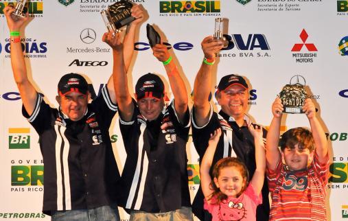 Piano/Mendes fazem balanço positivo após o quinto título da Ford Racing Trucks/ Território Motorsport