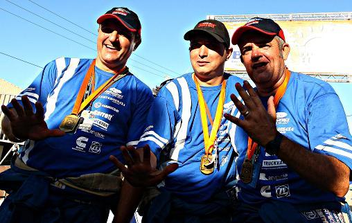 Ford Racing Trucks/ Território Motorsport é pentacampeã do Rally dos Sertões nos Caminhões