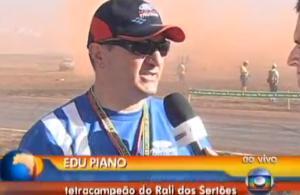 Edu Piano no Bom Dia Brasil da Rede Globo - Nacional