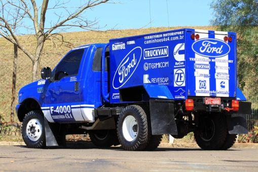 Ford Racing Trucks/Território Motorsport já está em Goiânia