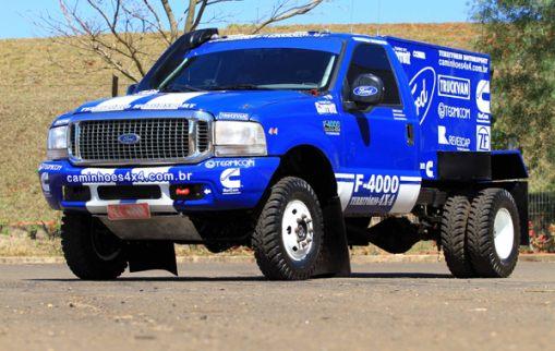 Caminhão pentacampeão da Ford Racing Trucks/Território Motorsport está na Fenatran