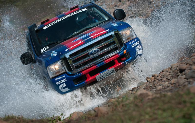 Rally dos Sertões: Ford Racing Trucks/Território Motorsport fecha mais um ano com Ford Caminhões