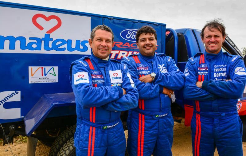 Ford Racing Trucks /Território Motorsport vence primeiro dia no Rally dos Bandeirantes