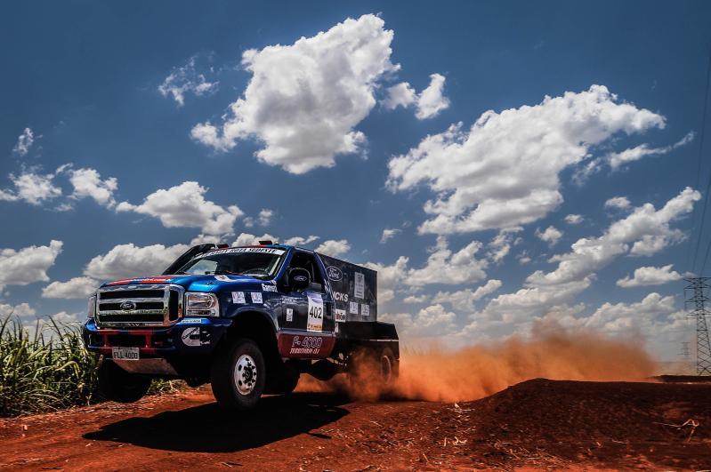 Ford Racing Trucks /Território Motorsport vence o 1º dia do Rally Rota Sudeste