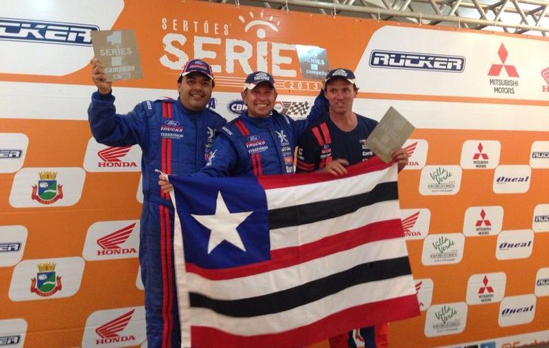 Trio da Ford Racing Trucks /Território Motorsport fatura três títulos no Rally dos Amigos