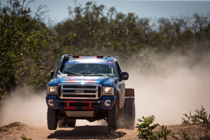 Rally dos Sertões: Quinta vitória consecutiva da Ford Racing Trucks/ Território Motorsport