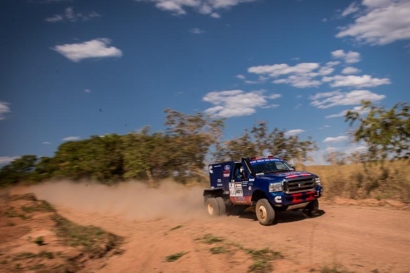 Rally dos Sertões: Ford Racing Trucks/ Território Motorsport vence mais uma e segue na liderança