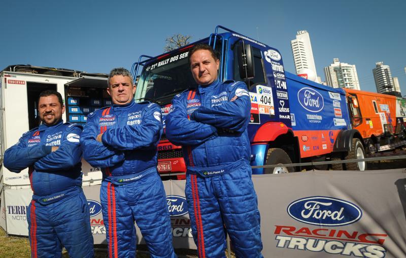 Rally dos Sertões: Ford Racing Trucks/Território Motorsports está em Goiânia