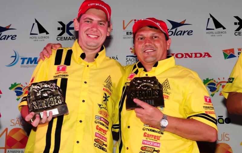 Duplas da Troller Racing/ Território Motorsport participam de premiação em Fortaleza