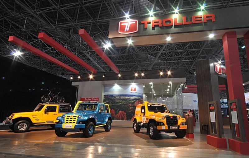 Troller Campeão do Rally dos Sertões 2012 está no Salão do Automóvel