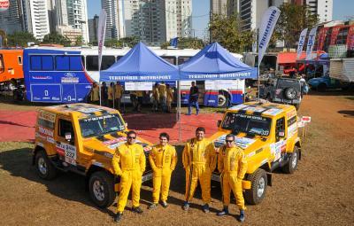 Rally dos Sertões: Troller Racing /Território Motorsport larga para 2ª etapa rumo a Pirenópolis (GO)