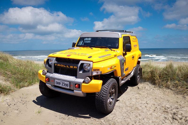 Novo Troller T4 estreia no Brasileiro de Rally na preparação para os Sertões