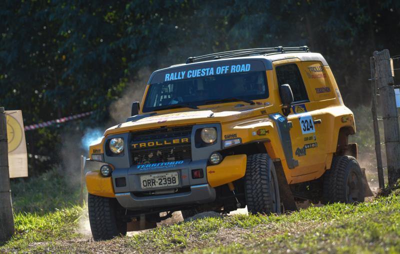 Equipe Troller Racing/Território Motorsport termina em 4º na Production T2 no Rally Cuesta Off-Road
