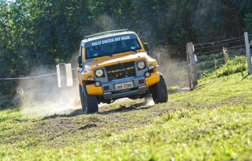 Troller Racing no Rally Cuesta
