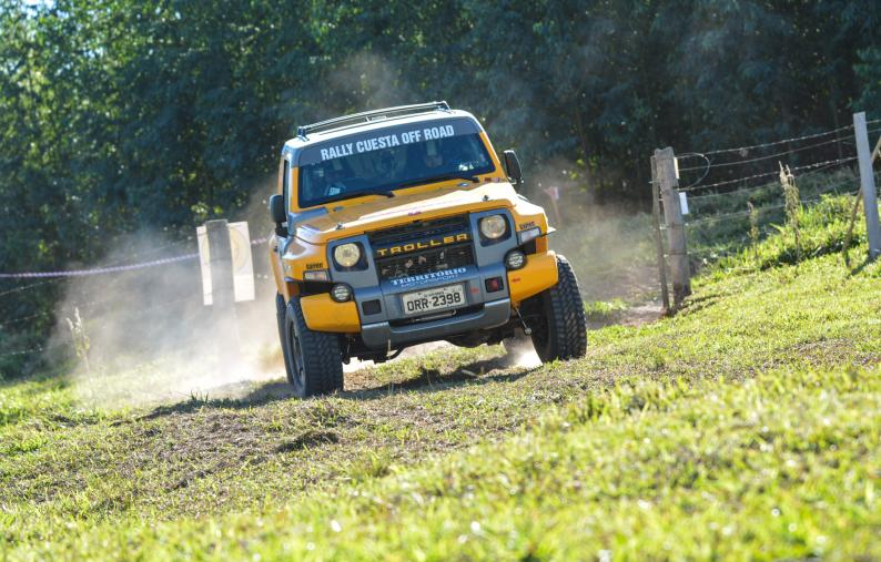 Troller Racing/Território Motorsport vence na Production T2, no 1º dia  do Rally Cuesta Off-Road