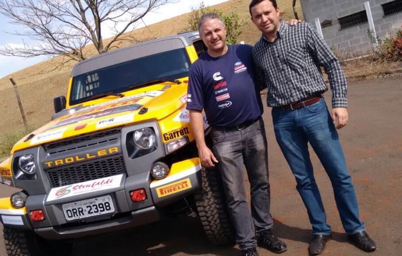 Rally dos Sertões: Ao chegar em Goiânia, Troller Racing /Território Motorsport anuncia novo parceiro