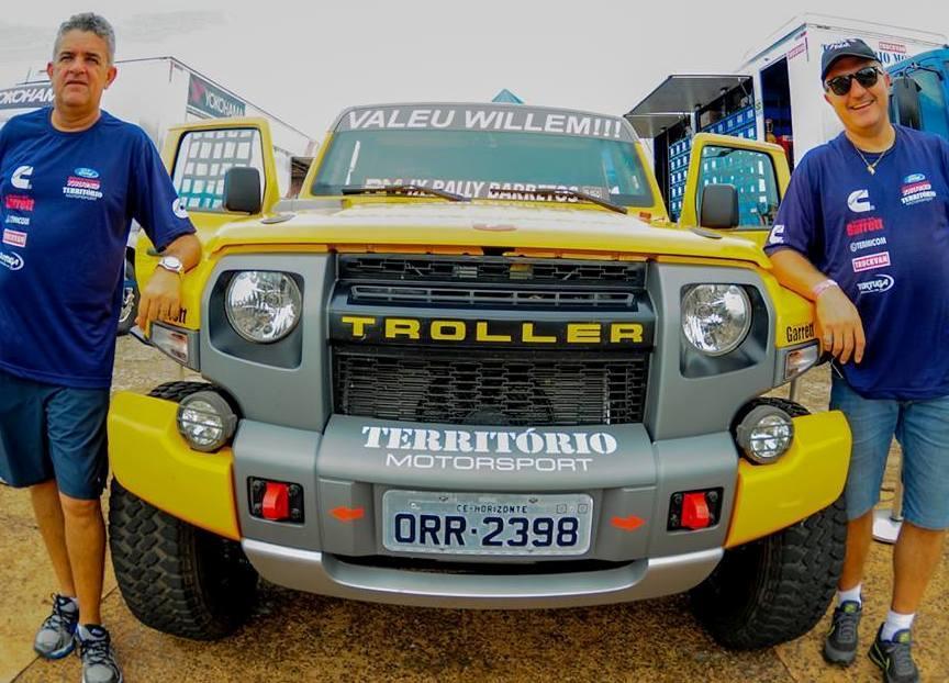 Troller Racing /Território Motorsport terá a dupla Edu Piano e Solon Mendes no Rally dos Sertões