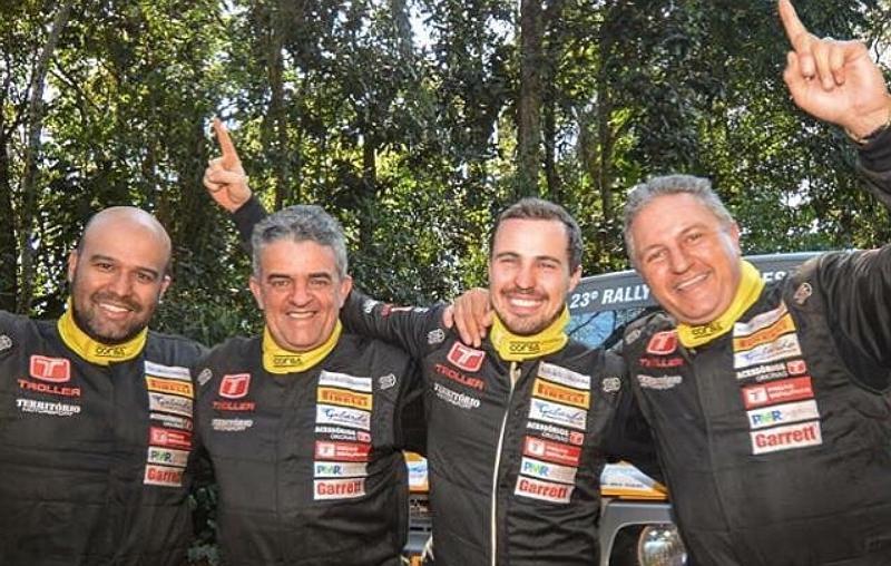 Troller Racing /Território Motorsport é bicampeã do Rally dos Sertões