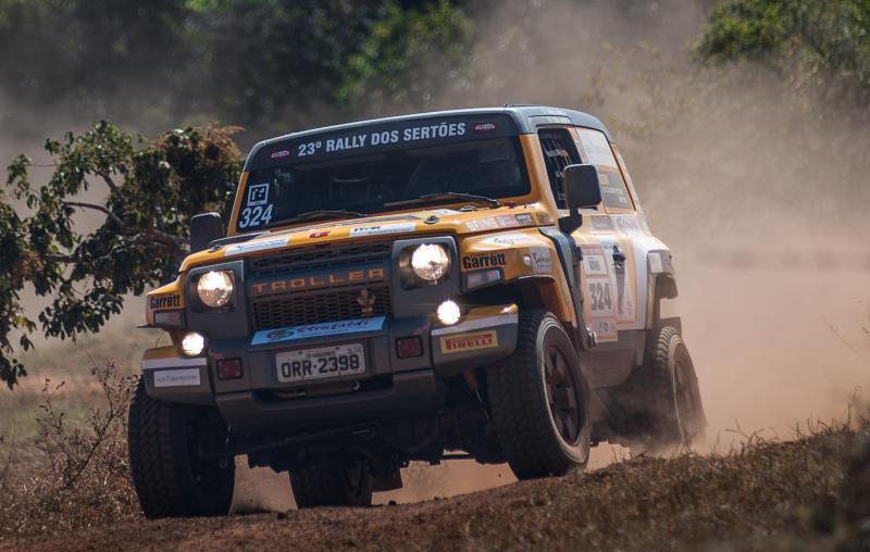 Troller Racing /Território Motorsport mantém a liderança no Rally dos Sertões com dobradinha