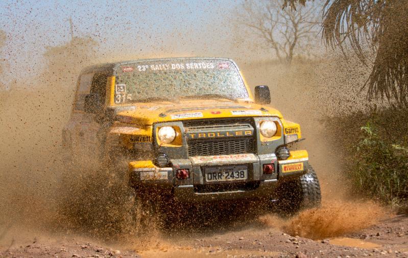 Troller Racing /Território Motorsport vence a primeira etapa do Rally dos Sertões na Production T2
