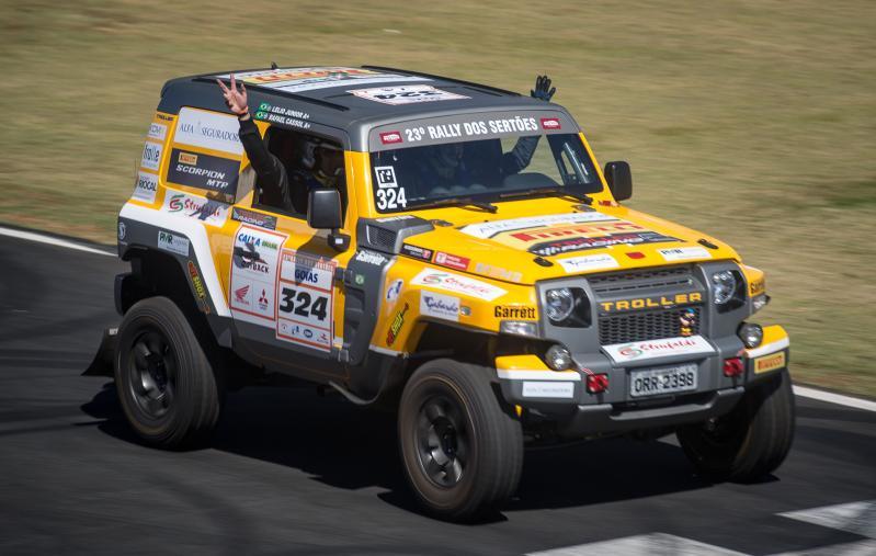 Rally dos Sertões: Troller Racing/Território Motorsport larga na frente com Edu Piano e Solon Mendes