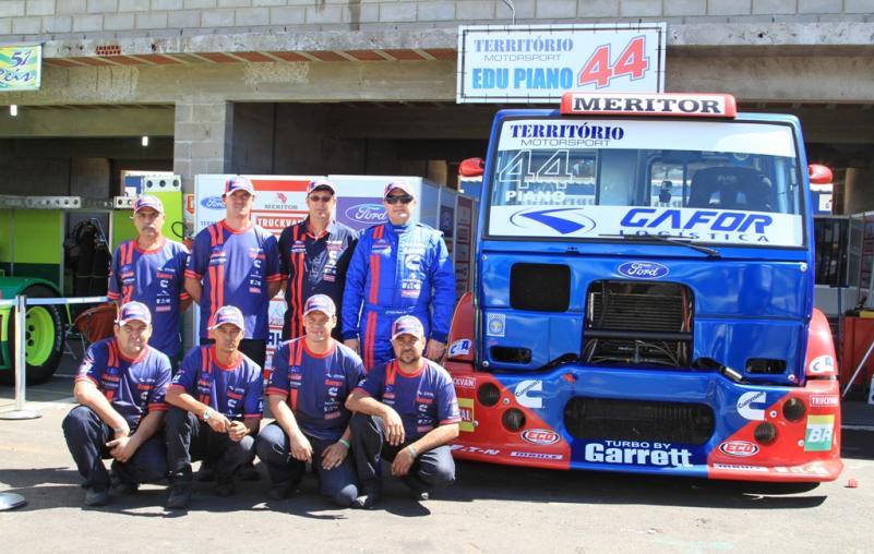 Edu Piano cumpre o objetivo na estreia da Fórmula Truck