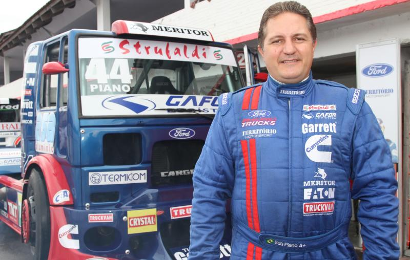 Neste domingo, Edu Piano encara a pista do Autódromo de Curitiba na F-Truck